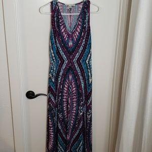 Maggy London maxi dress, size 6